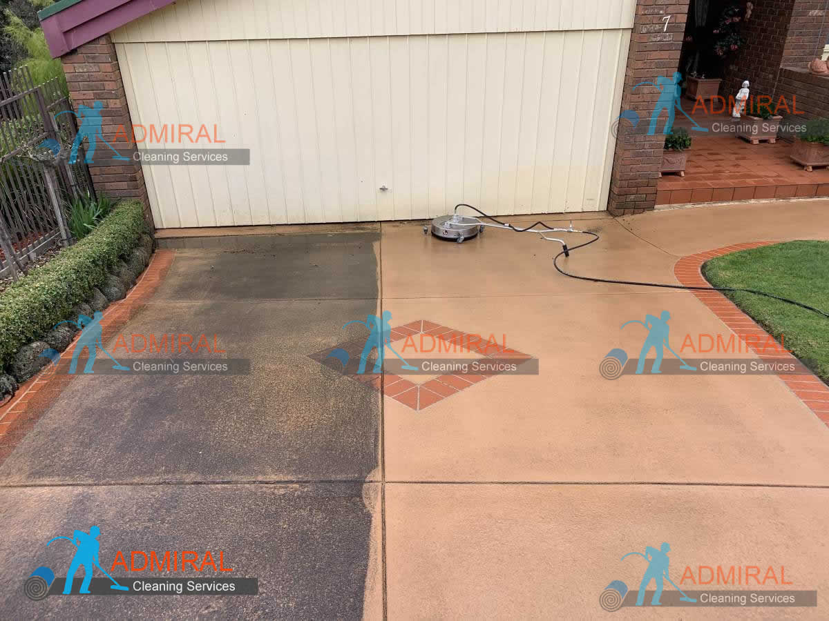 Driveway High Pressure Cleaning